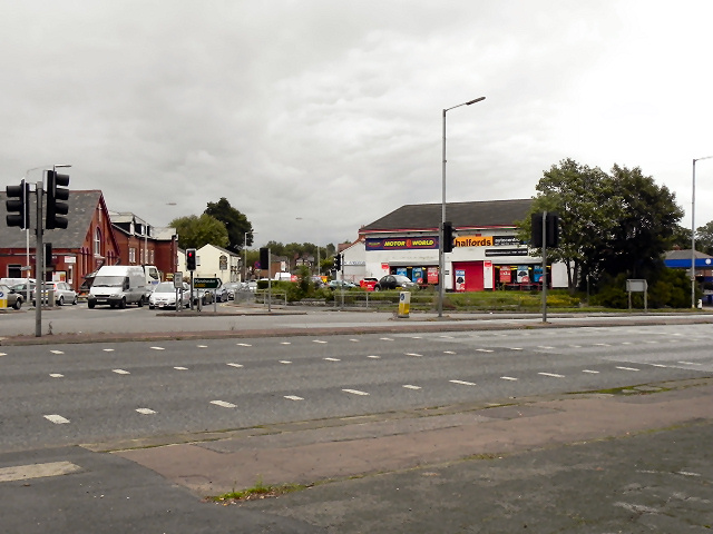"East Lancashire Road ""Halfords Junction"""