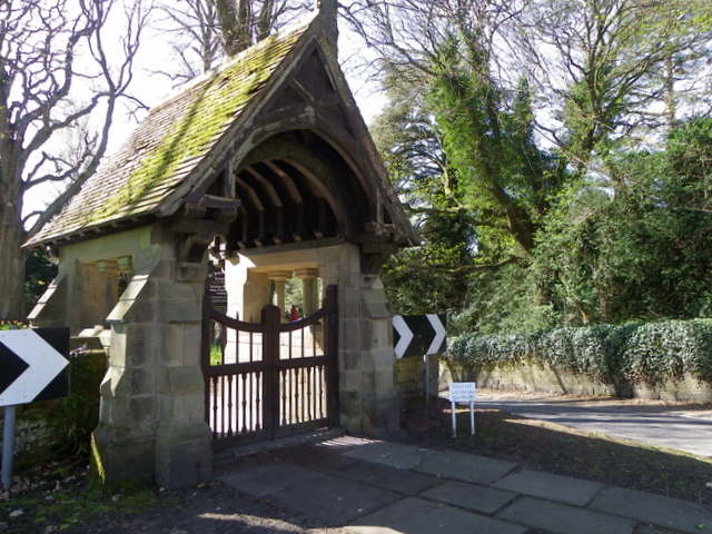 Lych Gate, St John's, Longhirst