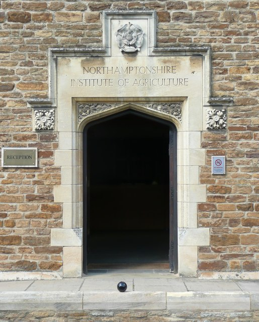 Doorway, Northamptonshire Institute of Agriculture, Moulton
