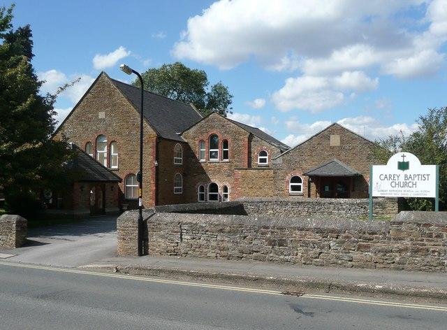 Carey Baptist Church, Moulton