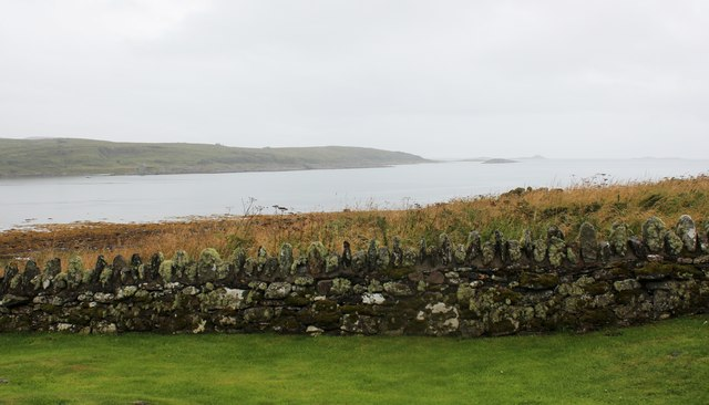 The view from the chapel of Keills