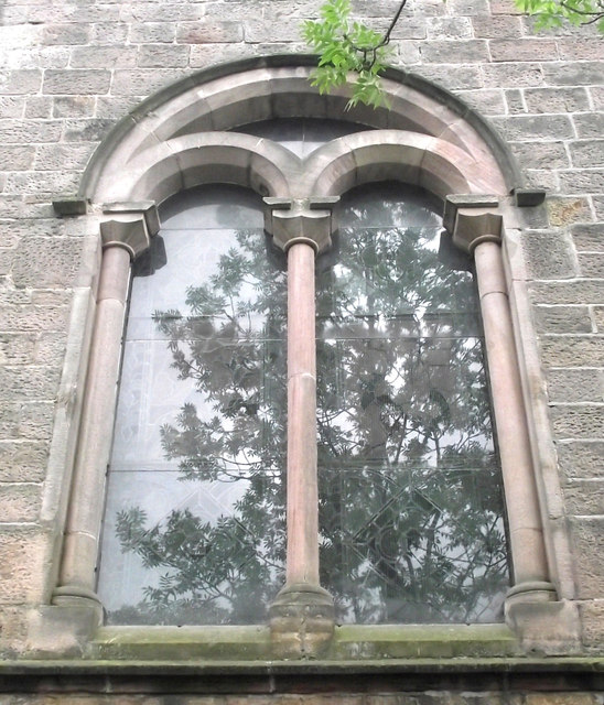St John's Church, Buglawton- Northern window