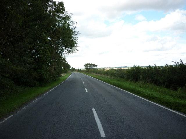 High Street, towards Baumber, Lincolnshire
