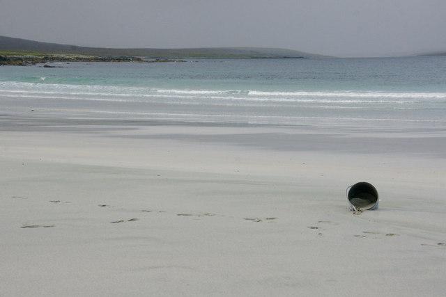 Flotsam on Easting beach
