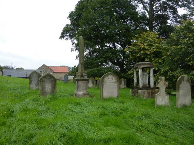 The Church of St Andrew, Winston, Graveyard