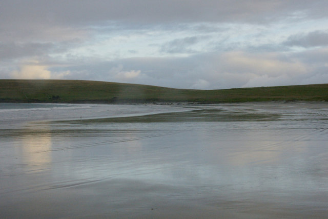 Easting beach from the north