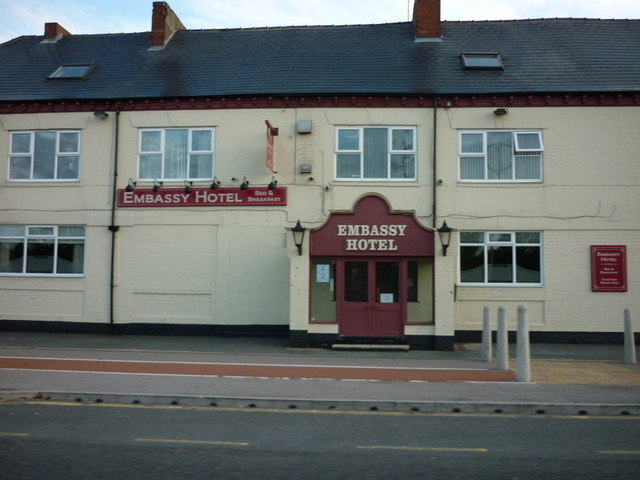 The Embassy Hotel on Hedon Road, Hull