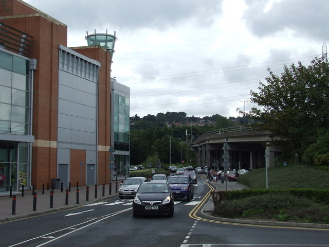 Metrocentre access road