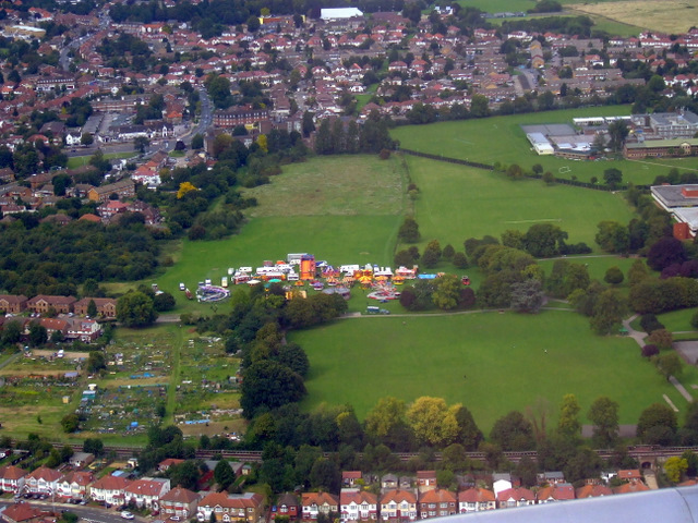 Lampton Park from the air
