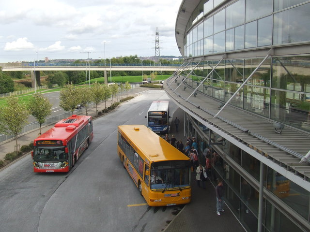 Metrocentre transport interchange