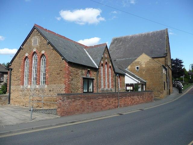 Former school, Cross Street, Moulton