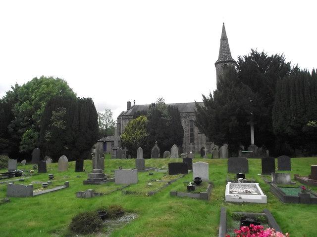 St John's Church, Buglawton- West elevation