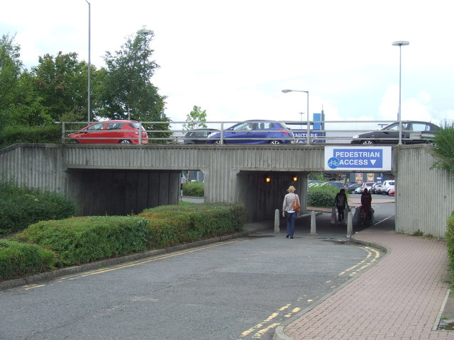 Underpass at the Metrocentre