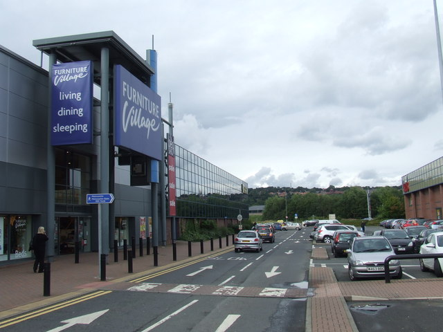 Metro Retail Park access road, near Gateshead