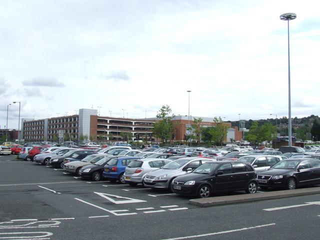 Car parking near Metrocentre