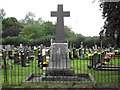 SJ8663 : St John's Church, Buglawton- War Memorial by Jonathan Kington