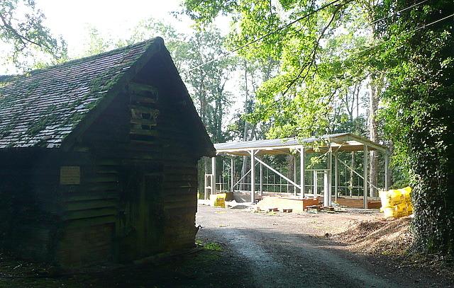 Buildings at Comp Farm