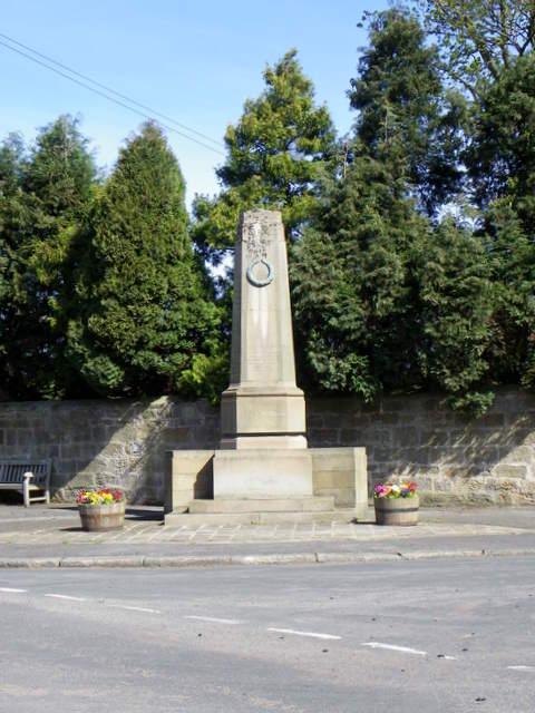 War Memorial, Longhirst
