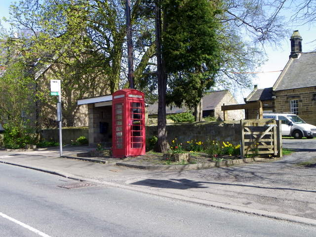 Telephone box, Longhirst