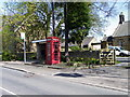 NZ2289 : Telephone box, Longhirst by Miss Steel