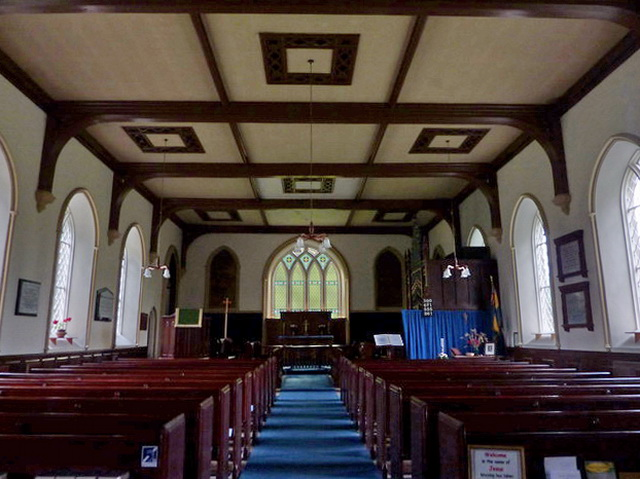 Church of St Mary the Virgin, Arkengarthdale, Interior