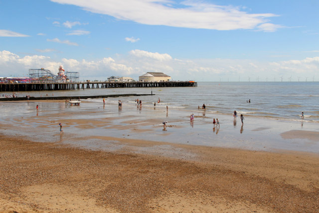 Clacton Beach and Pier, Essex