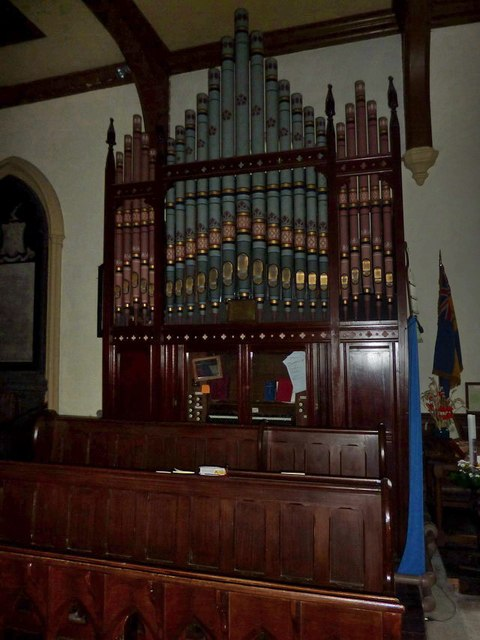 Church of St Mary the Virgin, Arkengarthdale, Organ