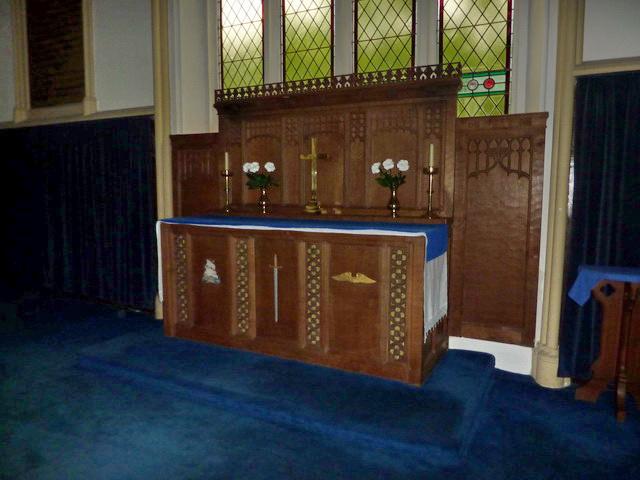 Church of St Mary the Virgin, Arkengarthdale, Altar