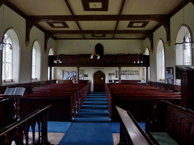 Church of St Mary the Virgin, Arkengarthdale, Interior