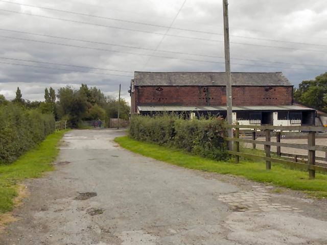 Shakerley Lane, Shams Farm