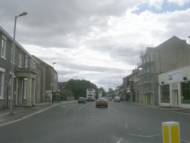 Fawcett Street - Paragon Street