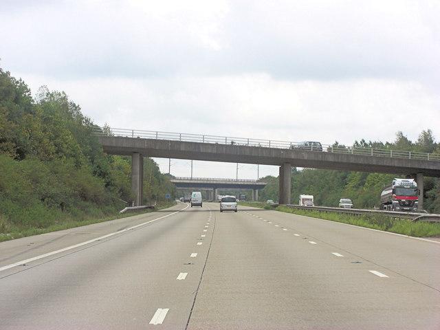 M20 bridge carries A20