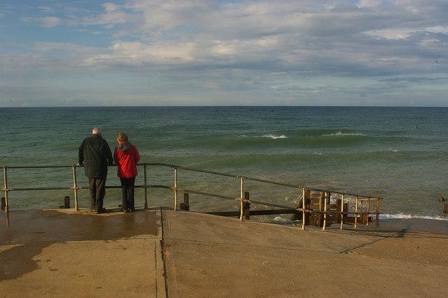 Sea view at West Runton