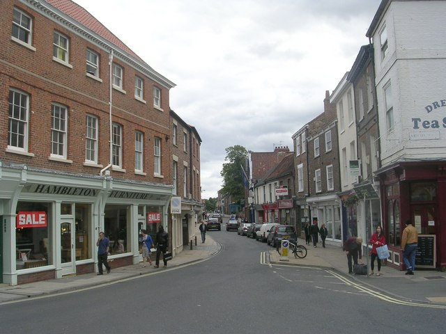 Walmgate - viewed from Merchantgate