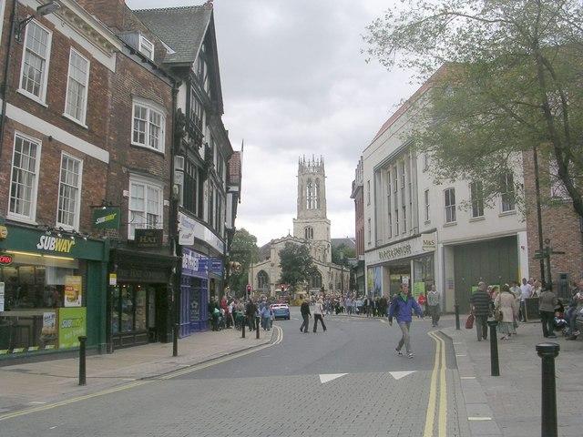 Pavement - viewed from Fossgate