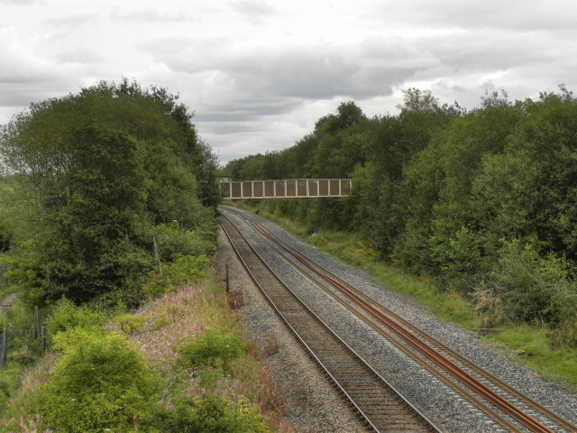 Railway from Engine Lane