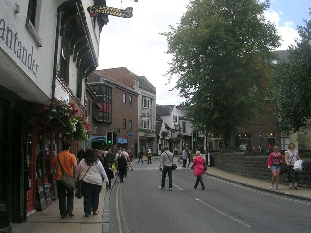 Coppergate - viewed from Pavement