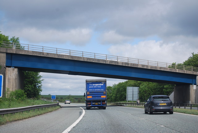 Bridge over the A1(M), Bowburn