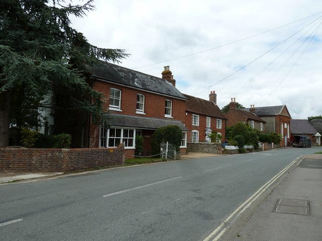 Houses in Bosham Lane