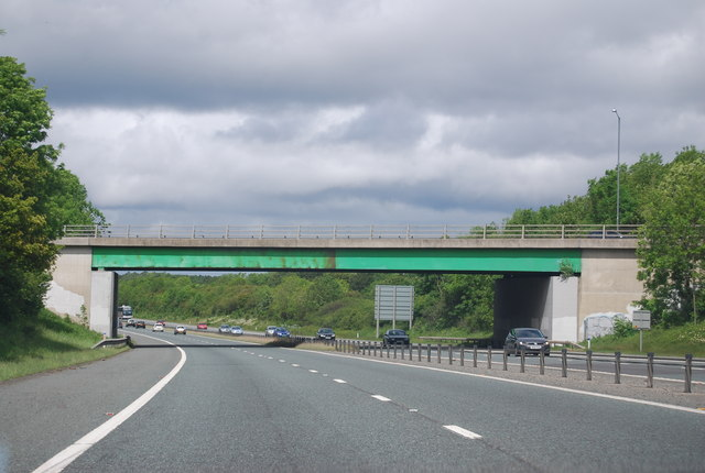 Lumley New Road Bridge (B1284), A1(M)