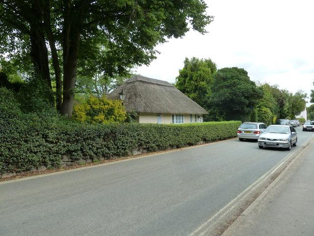 Cars passing in Bosham Lane