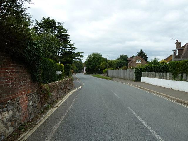 Mid section of Bosham Lane