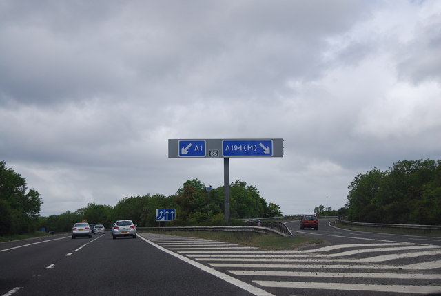 Junction 65, A1(M)