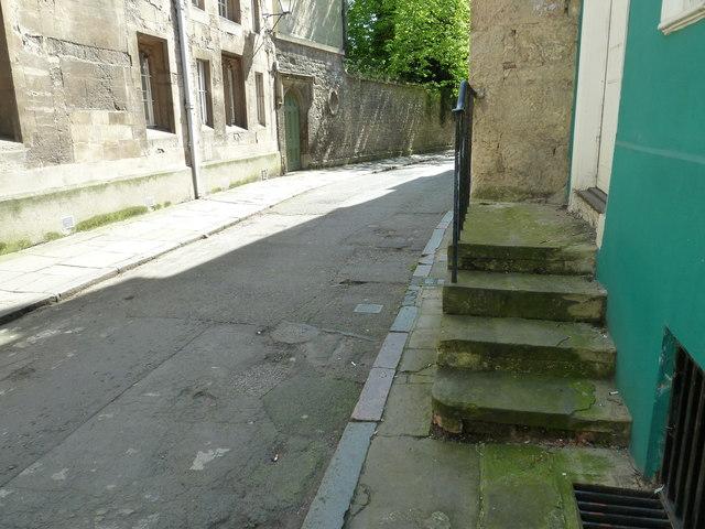 Steps in Oriel Street