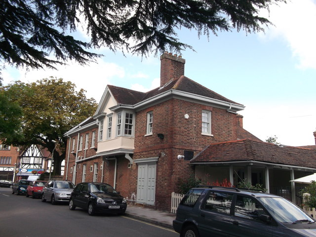 Side view of the George Inn, Hayes