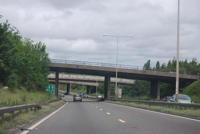 A1 / A692 Junction overbridges