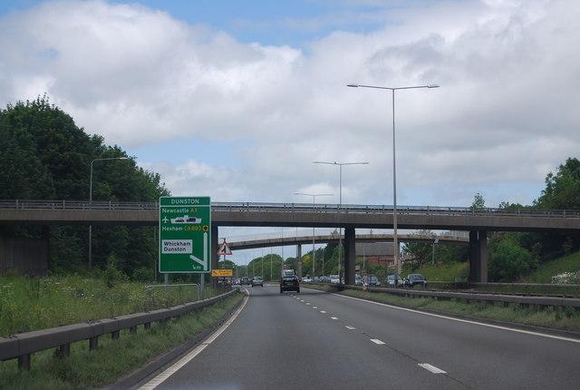 Bridges over the A1