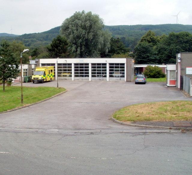 Glynneath Ambulance Station