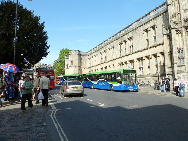 Buses in St Aldates