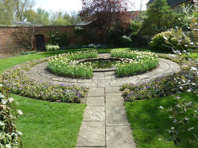 Garden within Christ Church